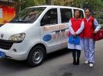 青年志愿者开展产后亲情式家庭访视志愿服务活动