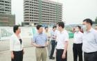 胡元坤调研华西二院眉山妇女儿童医院项目建设情况
